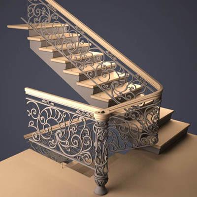 max stairs railing