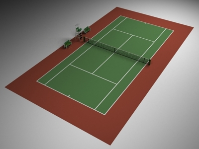 tennis tenniscourt 3d 3ds