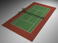 tennis tenniscourt 3d 3ds