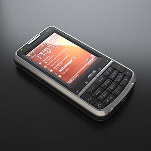 asus p526 cellphone 3d model