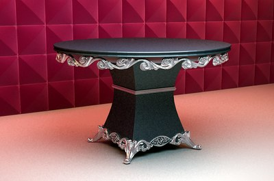 3d dining table