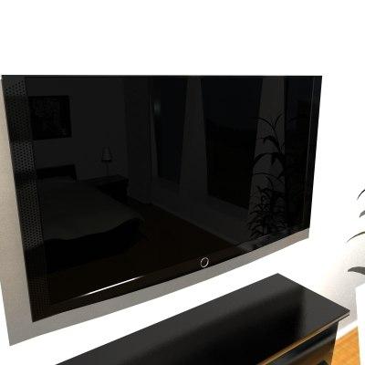 free lcd tv 3d model