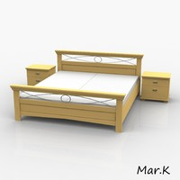 3d double bed cantare