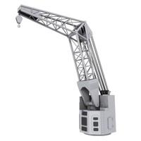 3d max boat crane