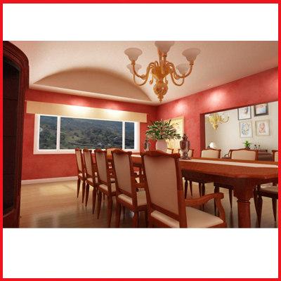max dinning room mansion