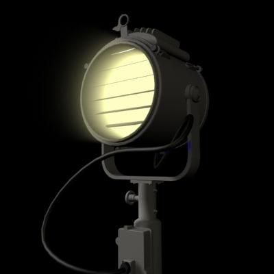 3d model of signal lamp