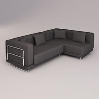 3d tylosand corner sofa