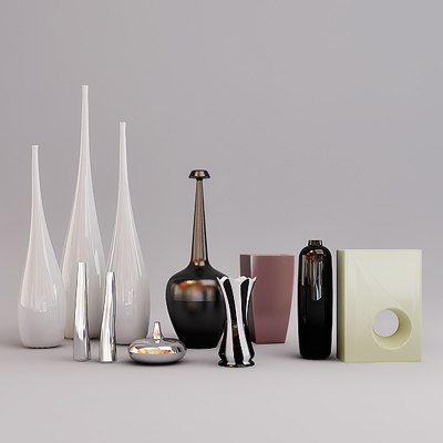 vases flowerpots 3ds