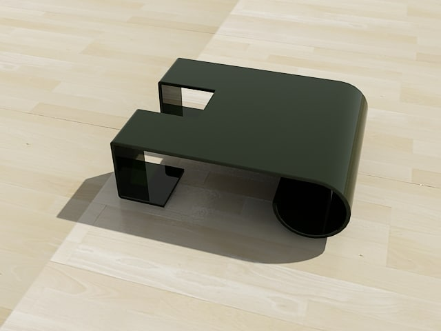 modern table c4d