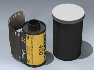 35mm film 3d model