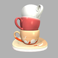 maya cups coffee saucers