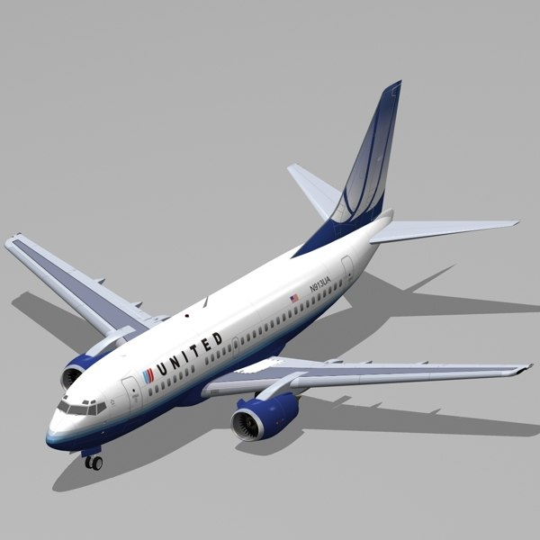 b 737-500 3d 3ds