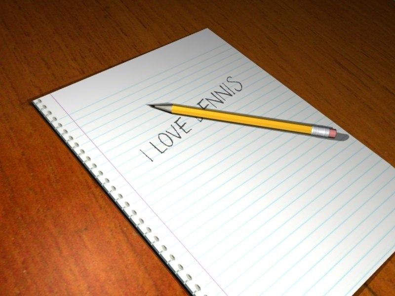 pencil eraser obj free