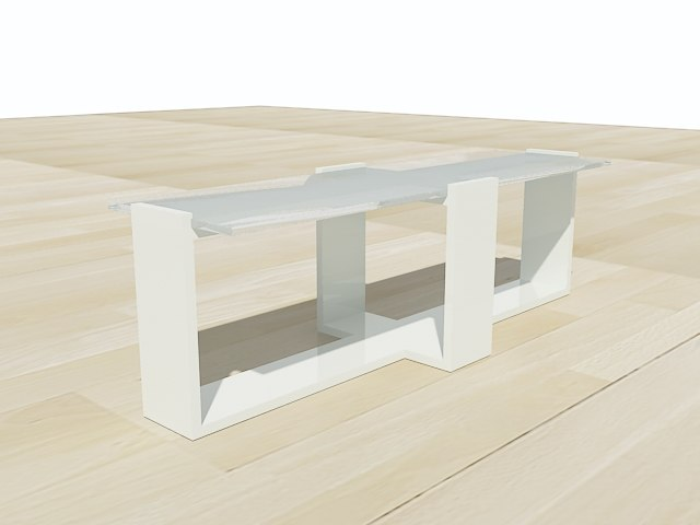 modern table furniture 3d 3ds