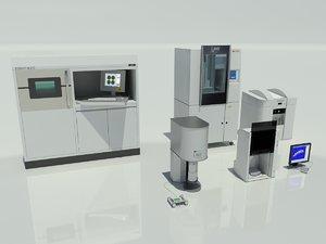 3d model dental lab equipment m