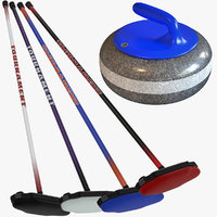 curling stone brooms max