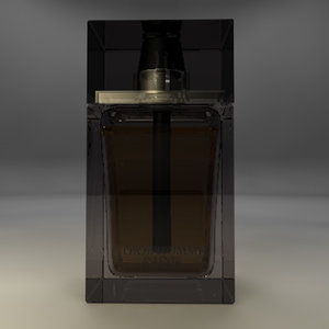 perfume dior homme intense 3d 3ds