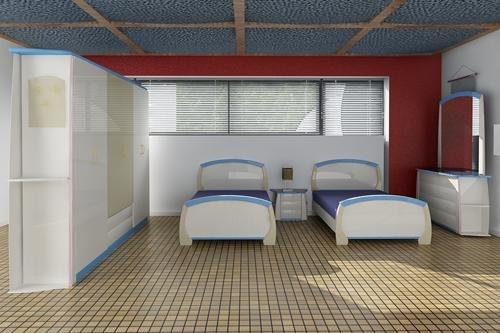 3ds max child bedroom