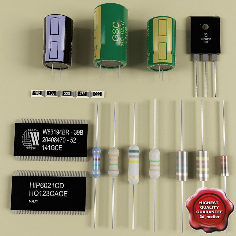 maya electronic components