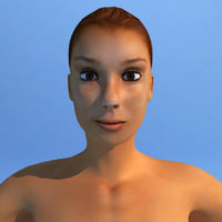 Female Human Character Dasha Rigged
