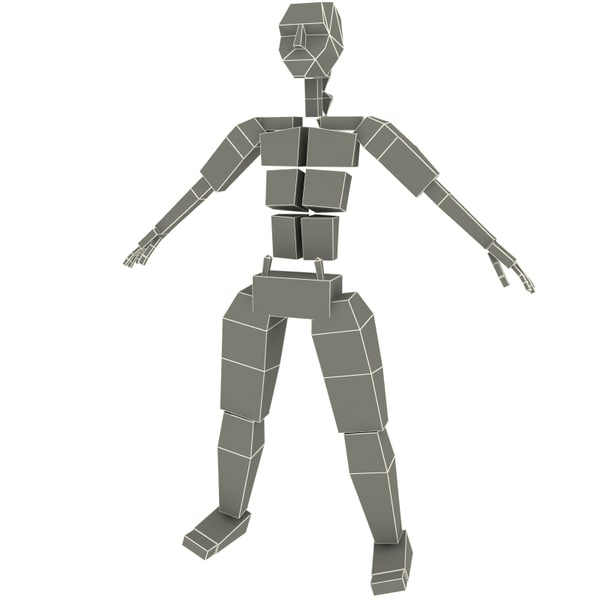 female human character dasha 3d max