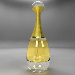 3ds max perfume dior