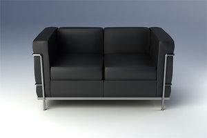 maya lc2 sofa
