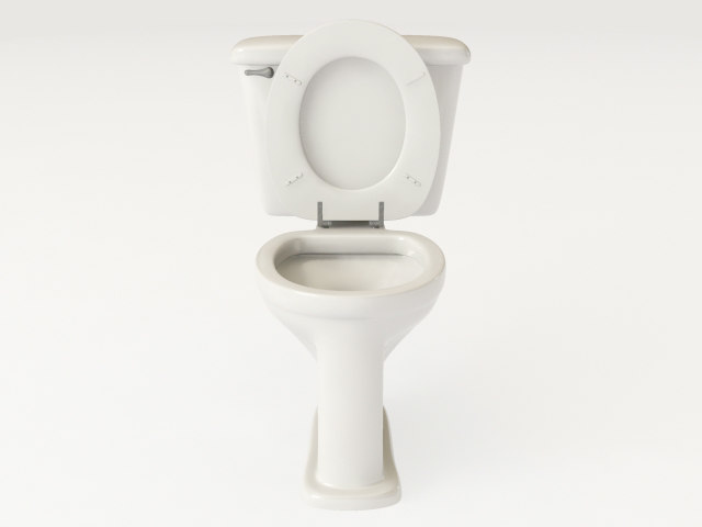 3ds max toilet ready render