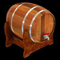 barrel 3d max