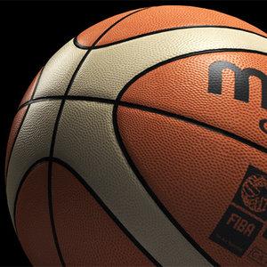 basketball ball 3d model