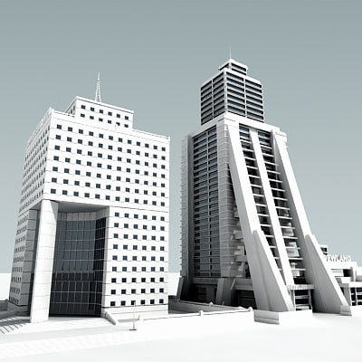 3d definition buildings