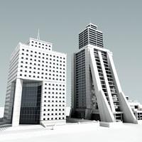 3d definition buildings