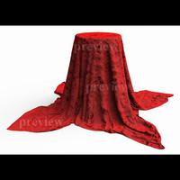 cloth dropped 3d model