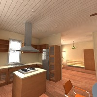 3d model house compact