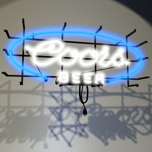 3ds max coors neon sign 01