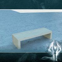 free 3ds mode modern wood table