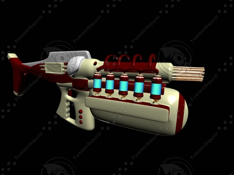 3d ion cannon model