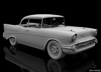 highpoly chevy 3d 3ds