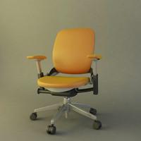 modern office chair 3d 3ds