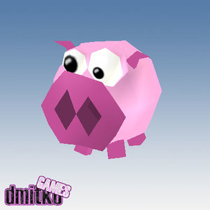 grotesque pig 3d 3ds