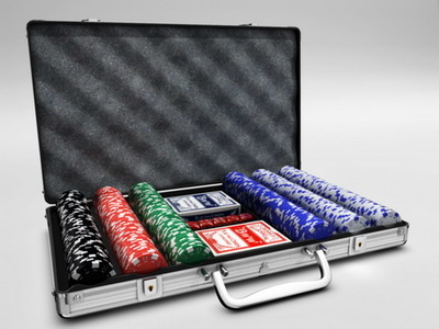 3d model of poker case