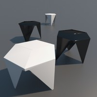 prismatic table 3d model
