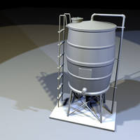 dxf roof water tank 01