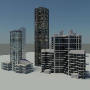 rise buildings 2010 settings 3d max