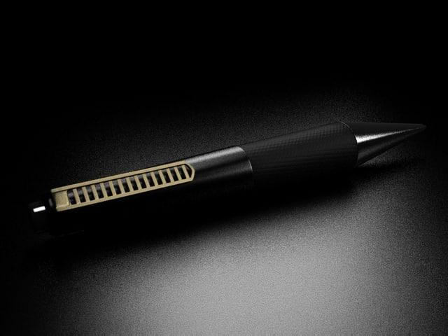 pencil black pen 3d max