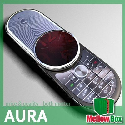 motorola aura 3d model