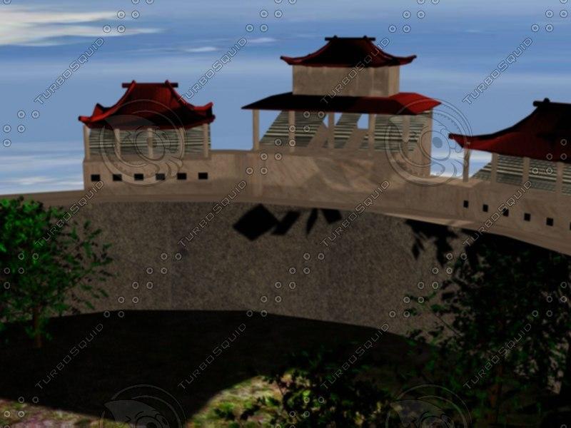 3d chunin exam arena model