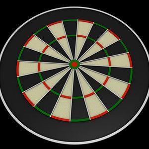 dartboard c4d free