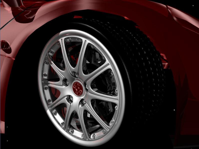 wheel brake rim 3d model