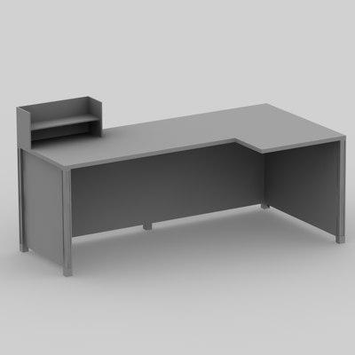 Free c4d model schreibtisch desk for Schreibtisch 3d modell